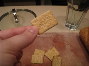 crunchy!