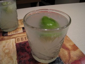 Mandarin Lime Fizz