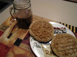 Nonamazing breakfast