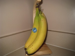 Storing bananas
