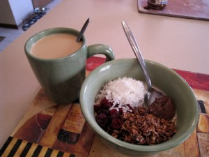 Awesome coffee and awesome oats