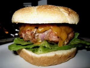 Cran-Apple Turkey Burger