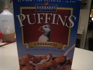 cinnamon Puffins!