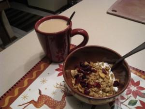 early breakfast