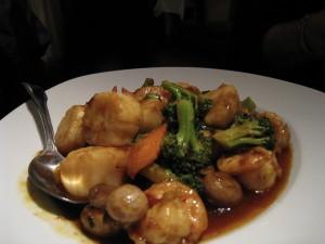 Scott's dinner