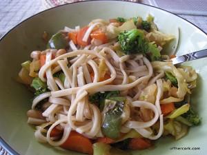 best noodle dish that I've made