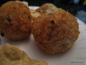 Cornbeef and sauerkraut balls