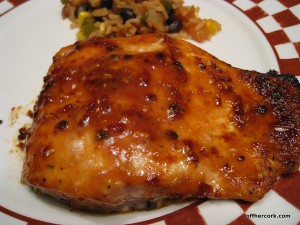 Chipotle Glazed Salmon