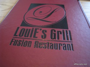 Louies Grill Menu