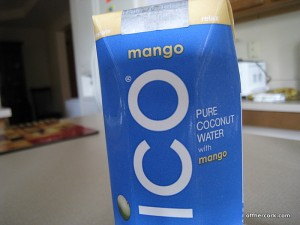 Mango coconut water