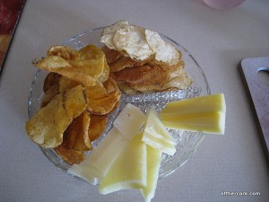 Cheese and chips