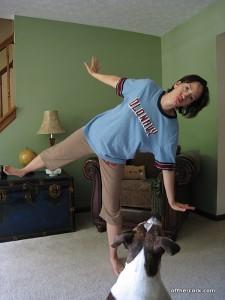 Me off balance