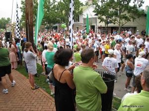 Runners waiting