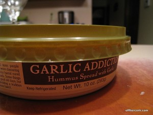 Garlic Addiction Sunny and Joe's Hummus