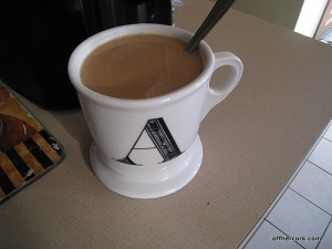 Mug of coffee