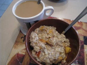 Coffee and oats
