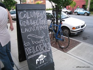 Columbus Collective Welcome Sign