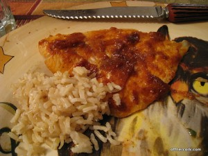 Fish and rice