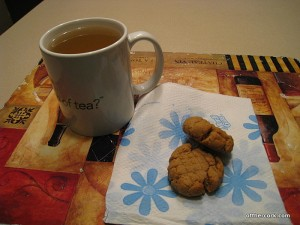 tea and cookies