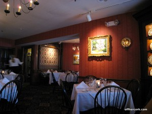 Worthington Inn Dining room