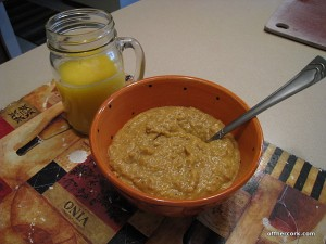 oatbran and OJ