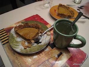 Pie and tea