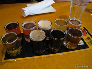 Thirsty Bear sampler