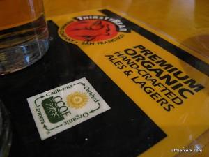 Organic Beers
