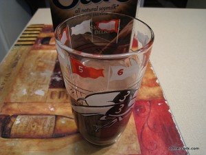 Chocolate soymilk