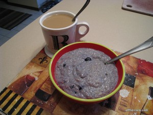 Coffee and oatbran