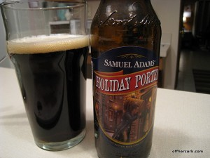 Sam Adam's Holiday Porter