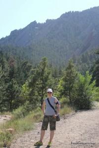 Hiking at Chatauqua Park