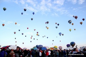 2012 Balloon Fiesta Morning Launch