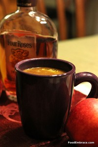 Buttered Bourbon and Cider