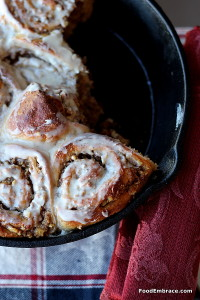 Pecan and Walnut Breakfast Rolls