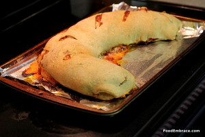 pepperoni stromboli roll