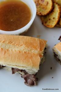 Roastbeef Dip Sandwich