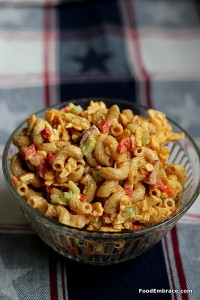 Pimento Cheese Macaroni Salad