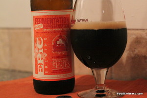 Epic Brewing's Fermentation Without Representation Imperial Pumpkin Porter