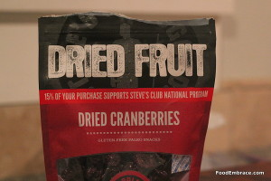 Steve's Paleo Cranberries