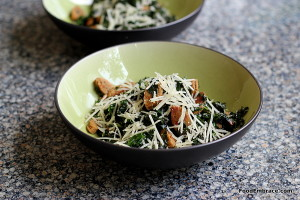 Kale, sausage, parm