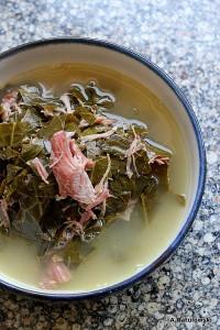 Collard soup