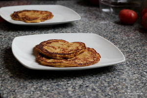 Plantain griddle cakes