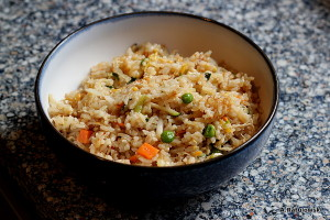 takeout fried rice