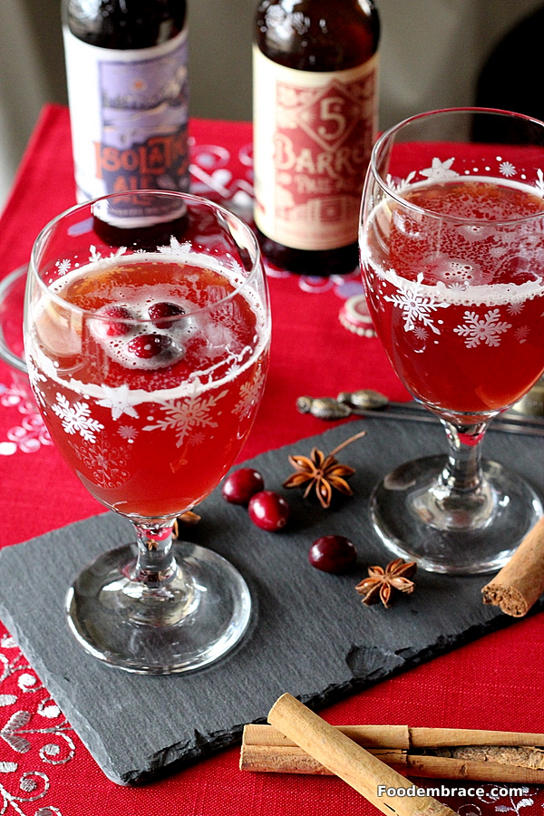Chilled Mulled Beer