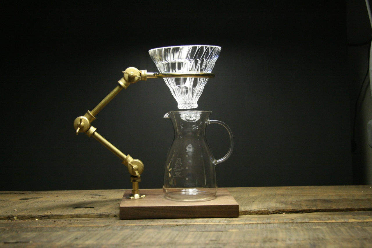 Curator Pour Over Coffee Stand by The Coffee Registry