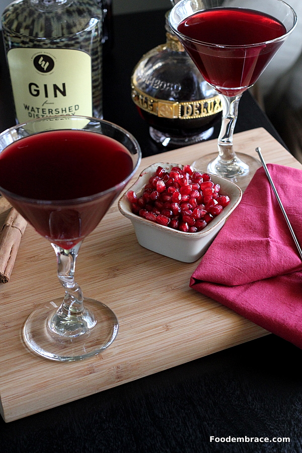 POMBerry Martini
