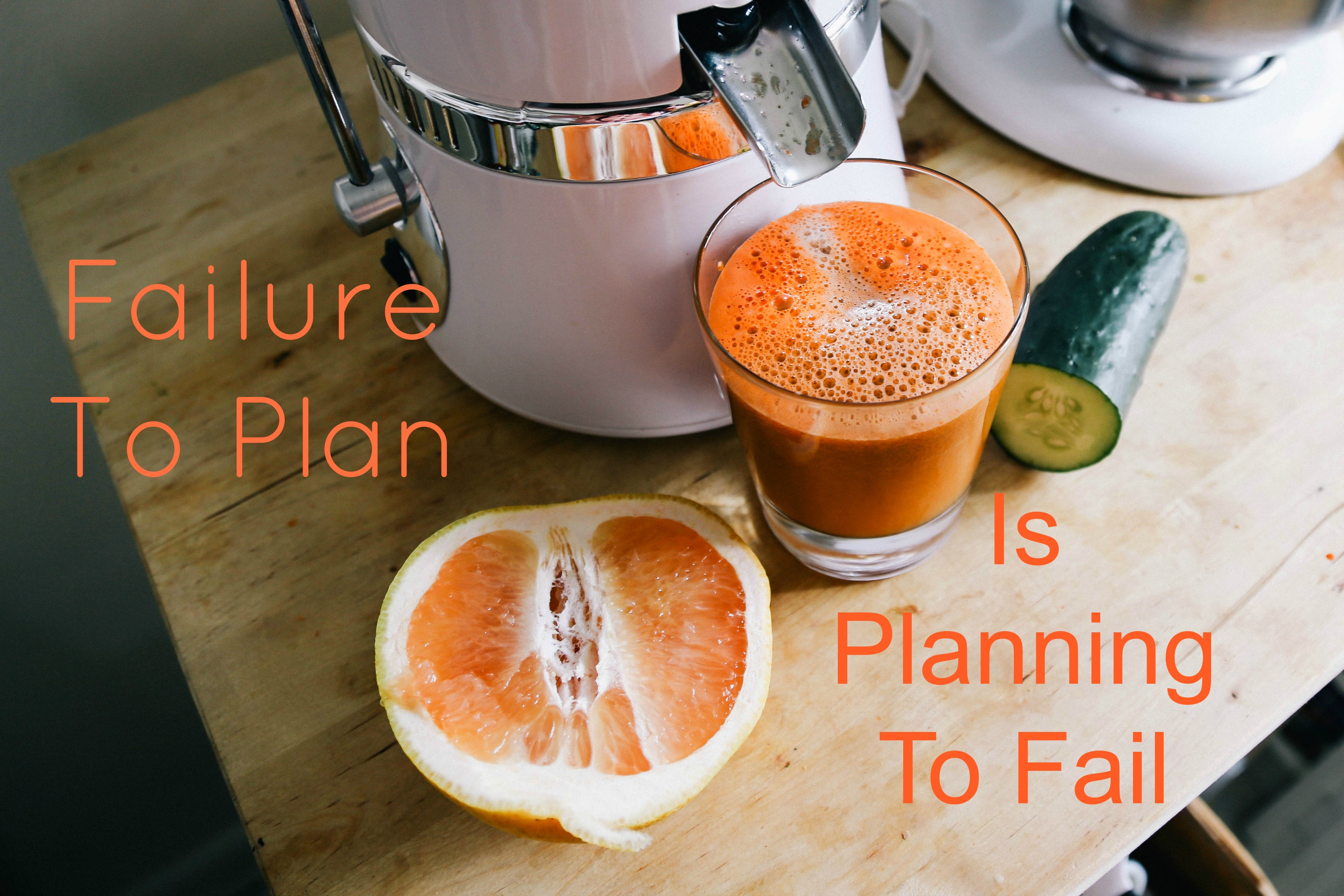 Failure To Plan, Is Planning To Fail