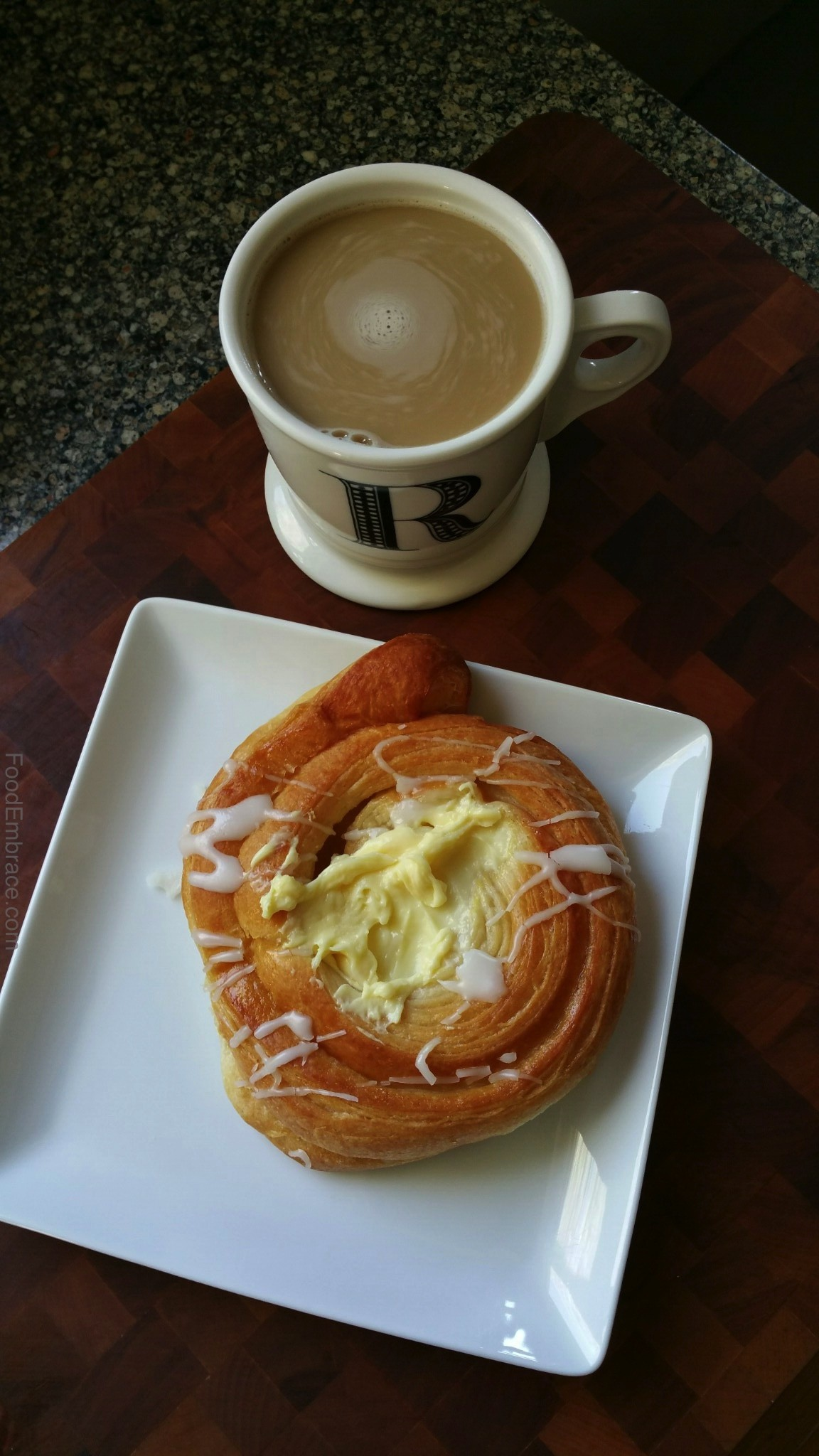 cheese danish from farmer's market