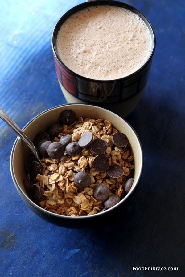 Yogurt Bowl and Coffee